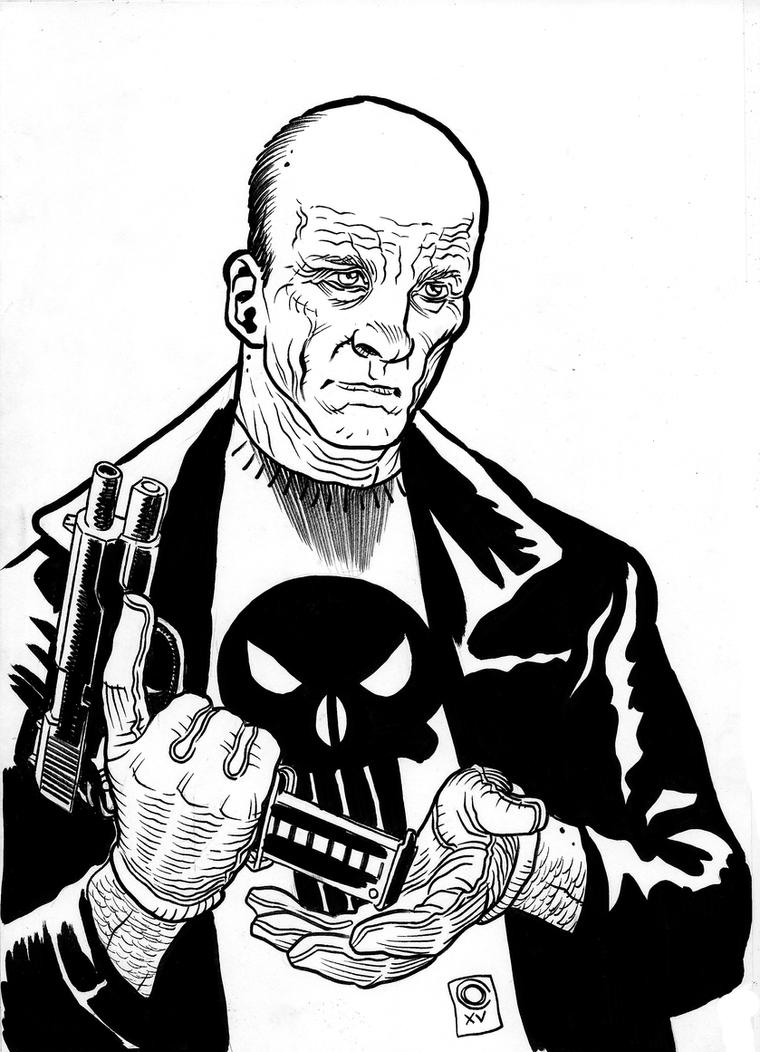 Old Man Punisher by caiooliveira