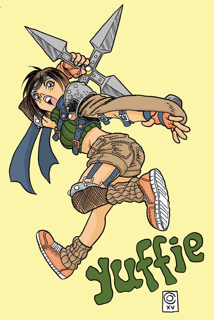 Yuffie by caiooliveira