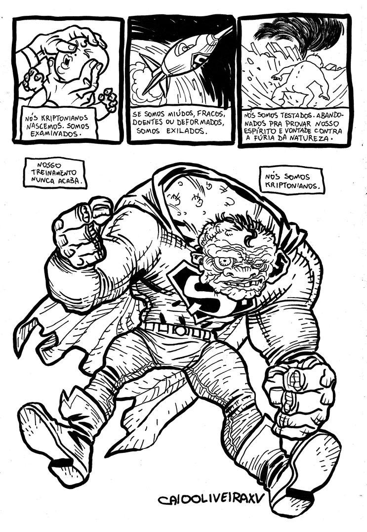 Superman DK3 by caiooliveira