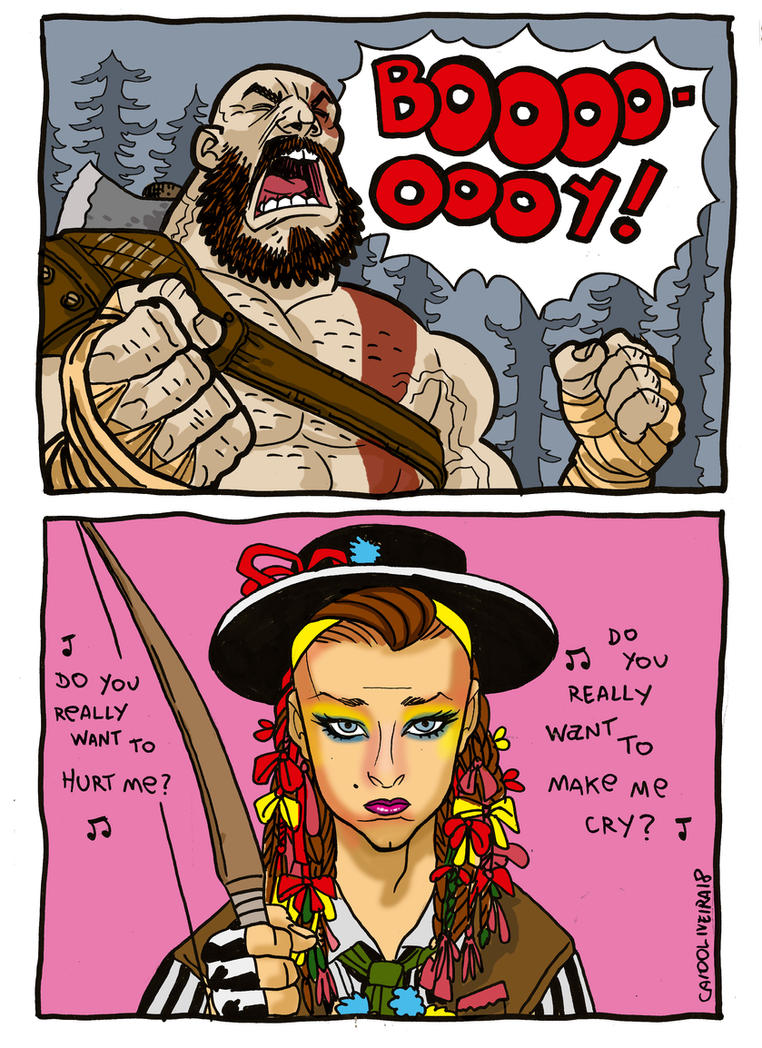 Boy George Of War Cor by caiooliveira