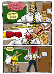 One Punch Academia by caiooliveira