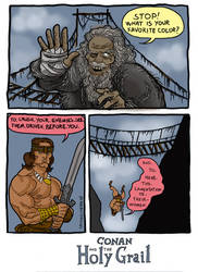 Conan Holy Grail by caiooliveira