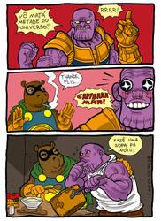 Capybara-man Thanos