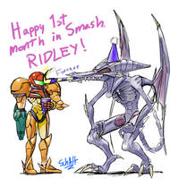 SUPER SMASH BROS. - Ridleyversary by SchAlternate