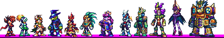 RIVAL MASTERS - Current Sprites