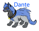 Dante the Poochyena by MusicOverload