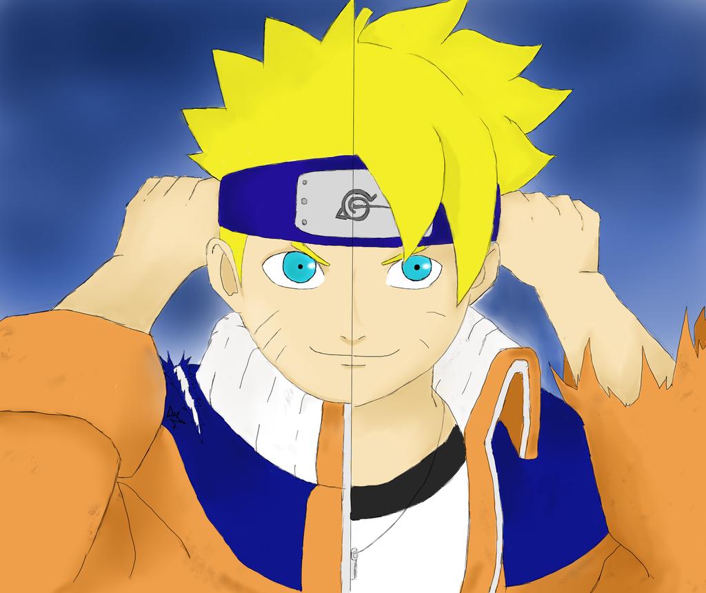 Boruto Deviantart: Boruto And Naruto By DanyShiny On DeviantArt