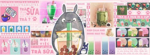Milk tea Iggy by Ino2206