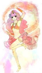 Dancing Fire Girl by Abrilistika