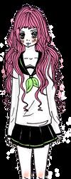 Cute Sailor Uniform Girl by Abrilistika