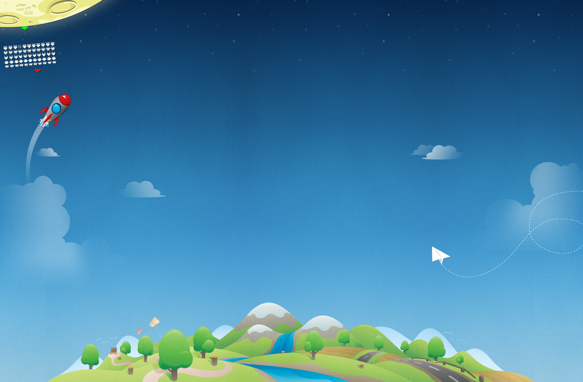Unduh 770+ Background Keren Angkasa HD Terbaik