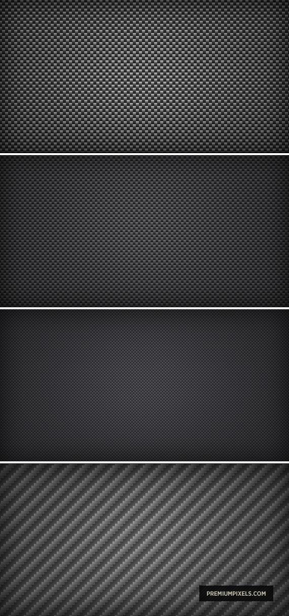 Carbon Fibre Photoshop Pattern by ormanclark
