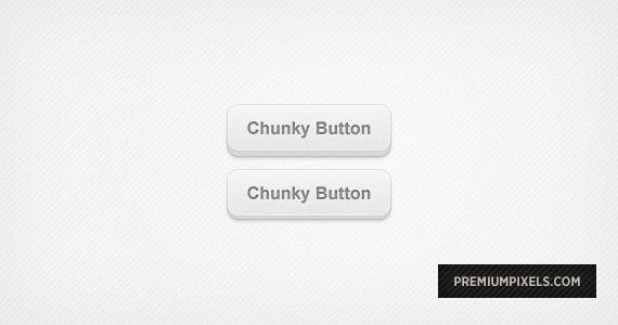 Chunky 3D Web Buttons - PSD by ormanclark