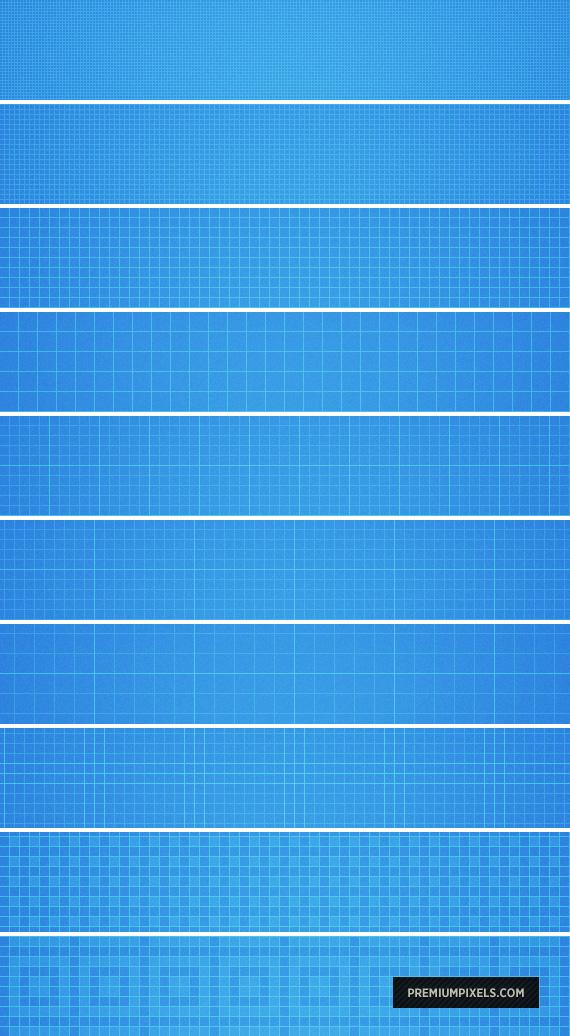 Seamless P'Shop Grid Patterns