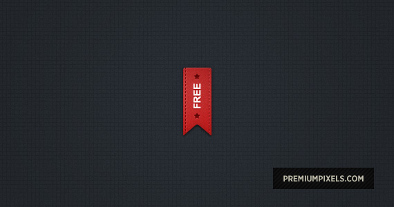 Pretty Red Ribbon - Free PSD by ormanclark