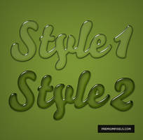 Gel Text Layer Styles by ormanclark