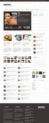 Repro WordPress Theme by ormanclark