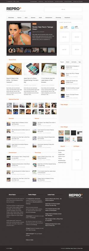 Repro WordPress Theme