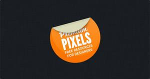 Pretty Little Sticker - PSD