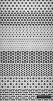 8 Light Metal Grid Patterns