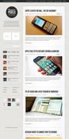 Premium Pixels WordPress Theme