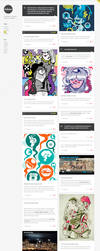 Gridlocked WordPress Theme by ormanclark