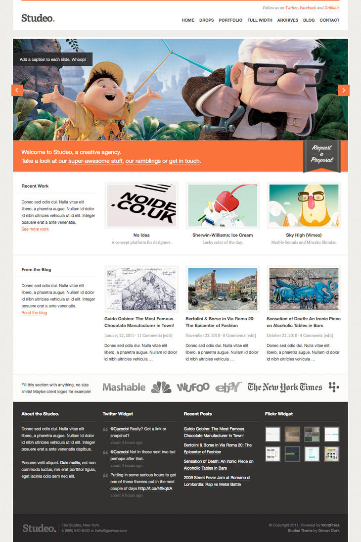 Studeo WordPress Theme by ormanclark