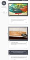 Memo Tumblog WP Theme by ormanclark