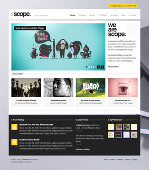 Scope WordPress Theme