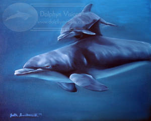 Intimate Bond by Dolphyn (Mineau the Dolphin)