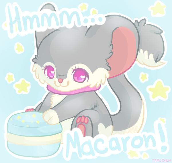 Hmmm... Macaron! by Zibelle