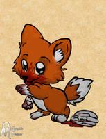 Bloody Fox by omar222samy