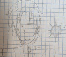 Drawing Muse Meme #1 - Cailean and a star