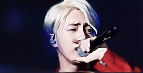 Jin X'C by Marina-BTS