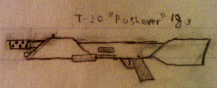 Trench-gun