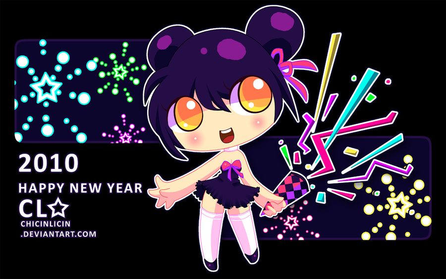 New Year 2010 by chicinlicin