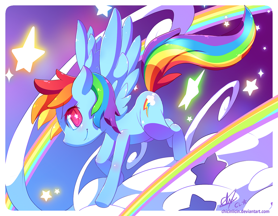 Rainbow Dash... by chicinlicin