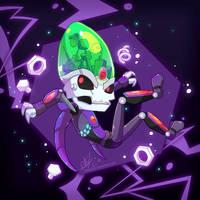 Purple Bolts by chicinlicin