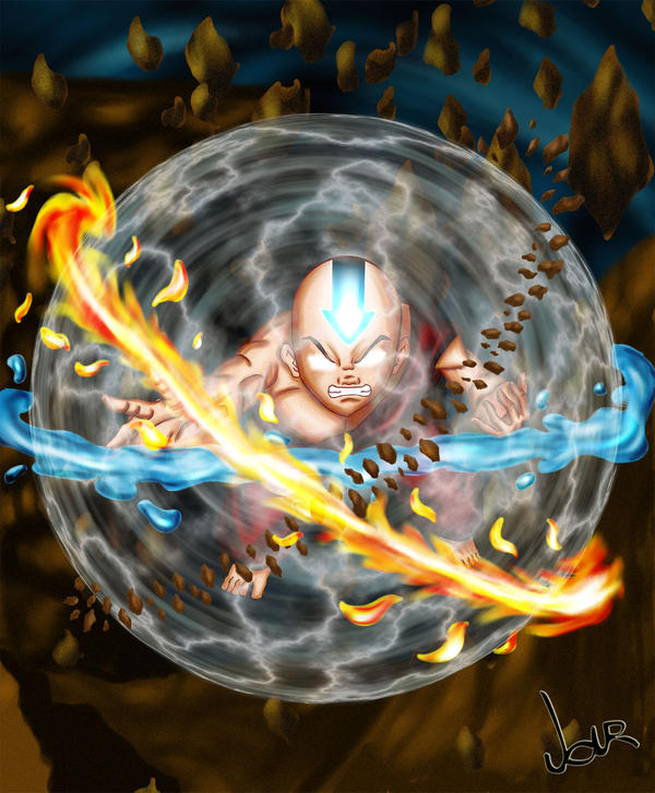 Movie Avatar State Aang: Avatar State By Okarusekai On DeviantArt