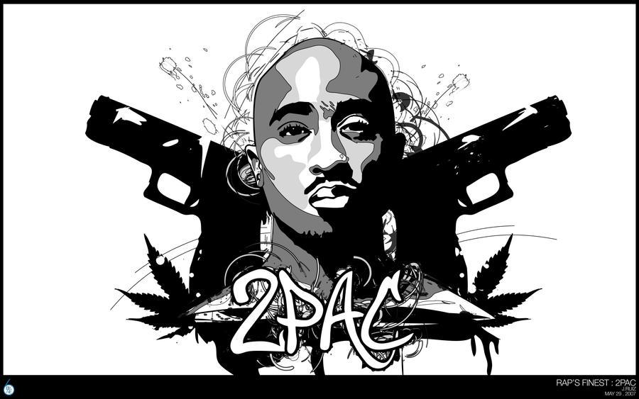 Rap's Finest : 2Pac by bakesix