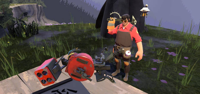 Engi's First ''Sentry''