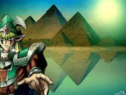Yu-Gi-Oh : Elf Swordsman by BlackSweetness