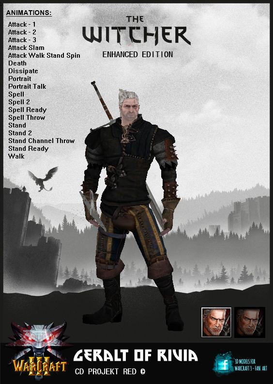 3D Model - Geralt Of Rivia 3d_model___geralt_of_rivia_by_jhotam-dcie9lu