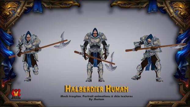 Halberdier Human By Jhotam