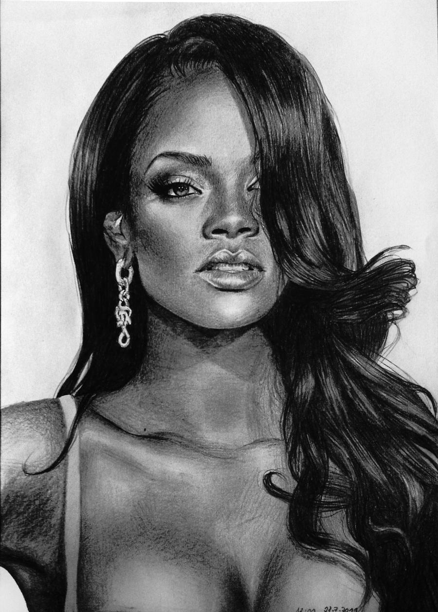 Rihanna - probably my best one by MissRoxyMFC