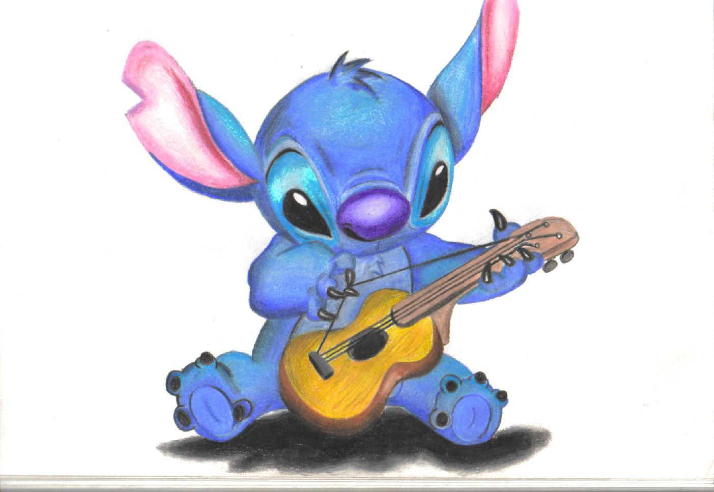 Cute Drawings of Stitch Stitch Drawing by Darkkart