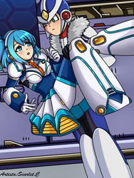 Rico x Xover Rockman x dive by ToonScarleth