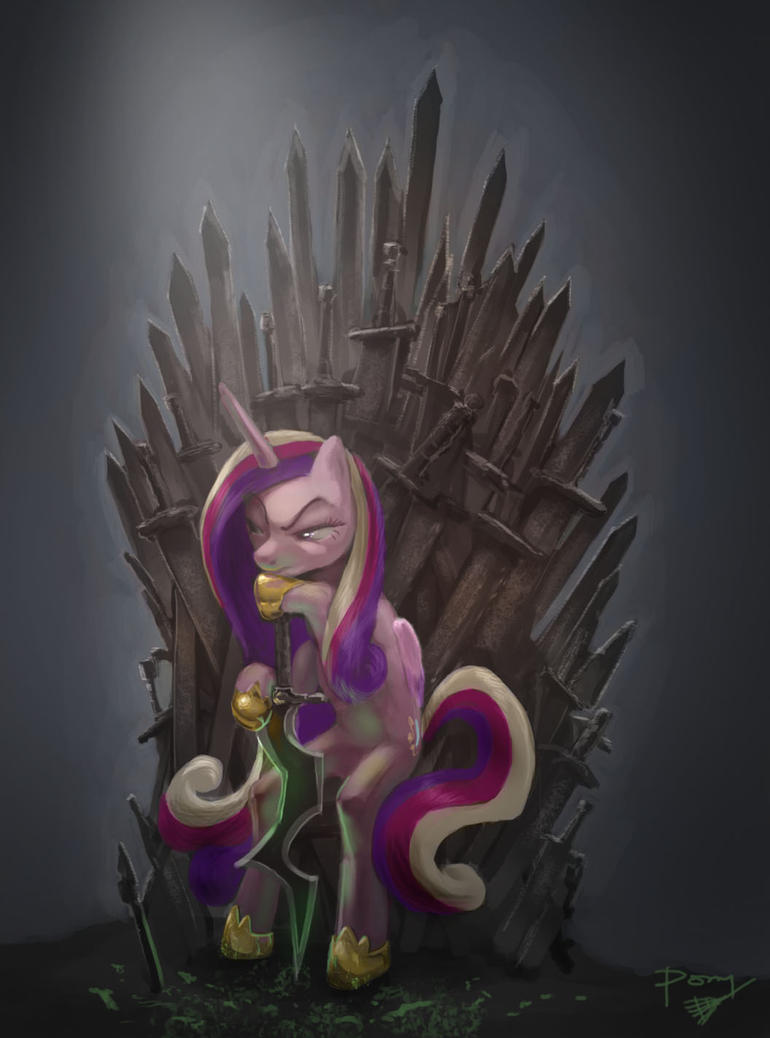 Unnecessary Crossovers: Game of Ponies by ponyrake