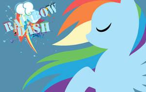Simple Rainbow Dash Wallpaper by RainbowDash180