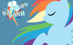 Simple Rainbow Dash Wallpaper